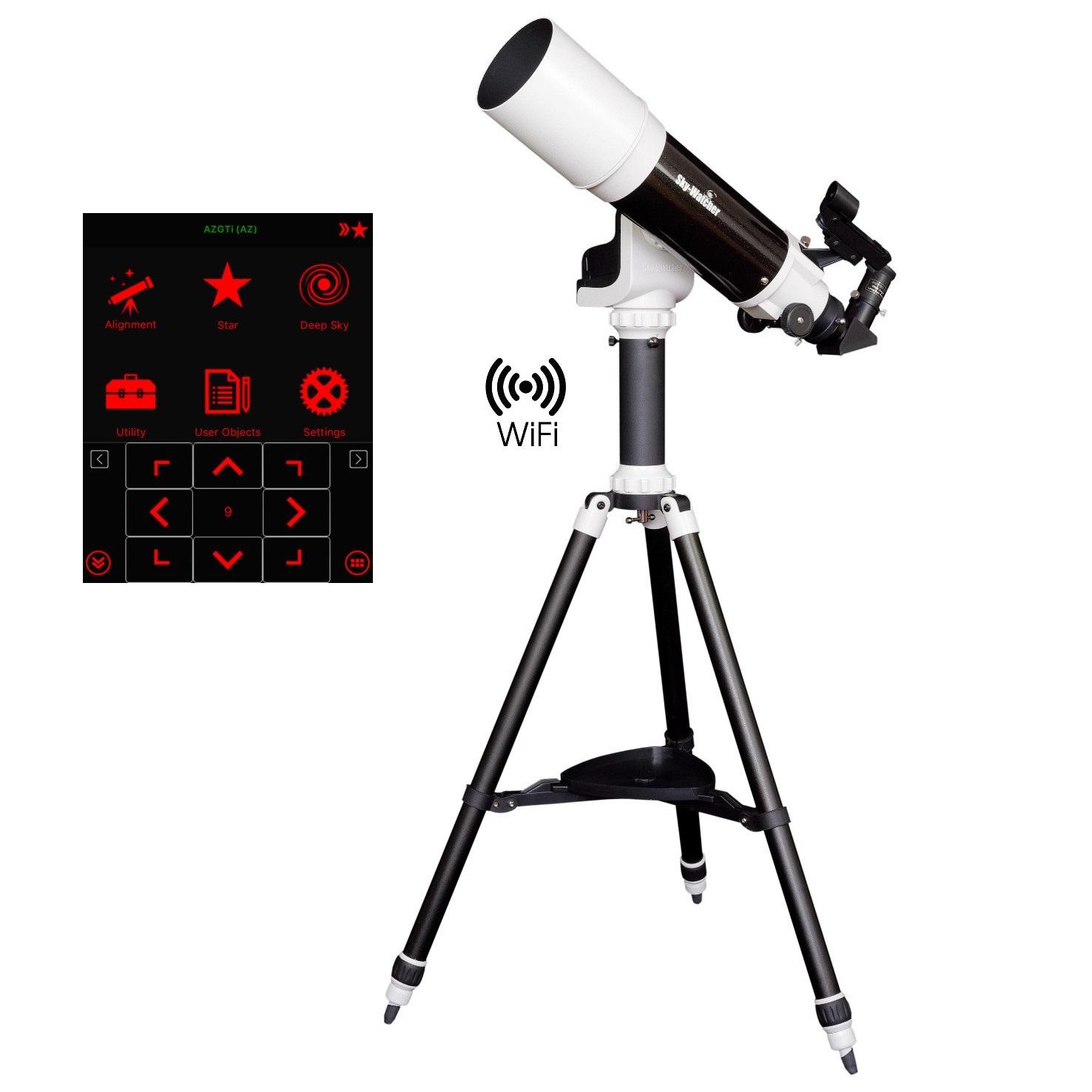 SkyWatcher Startravel 102 AZ-GTe WiFi Telescope
